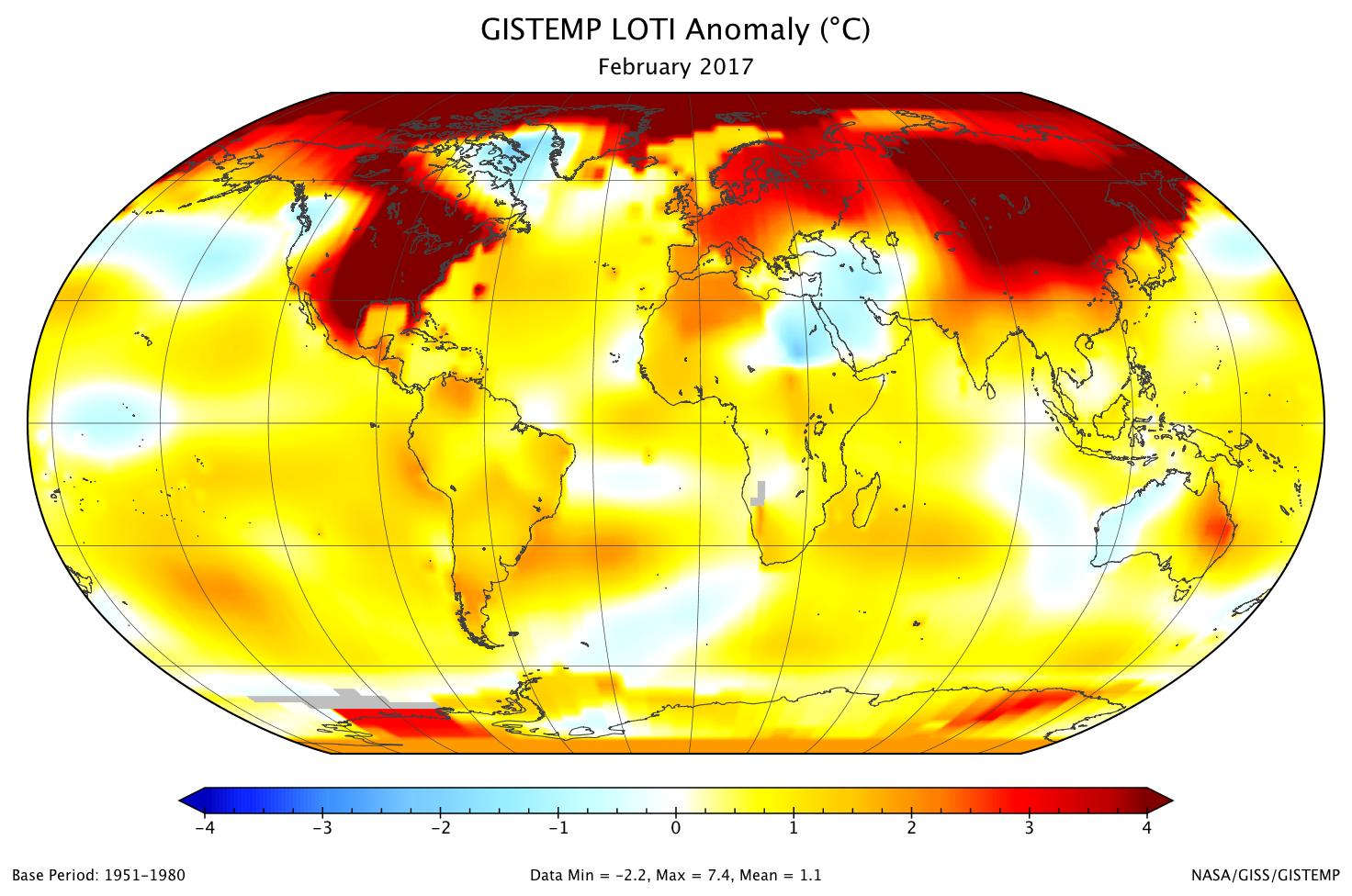 nasa global temperatures - photo #20