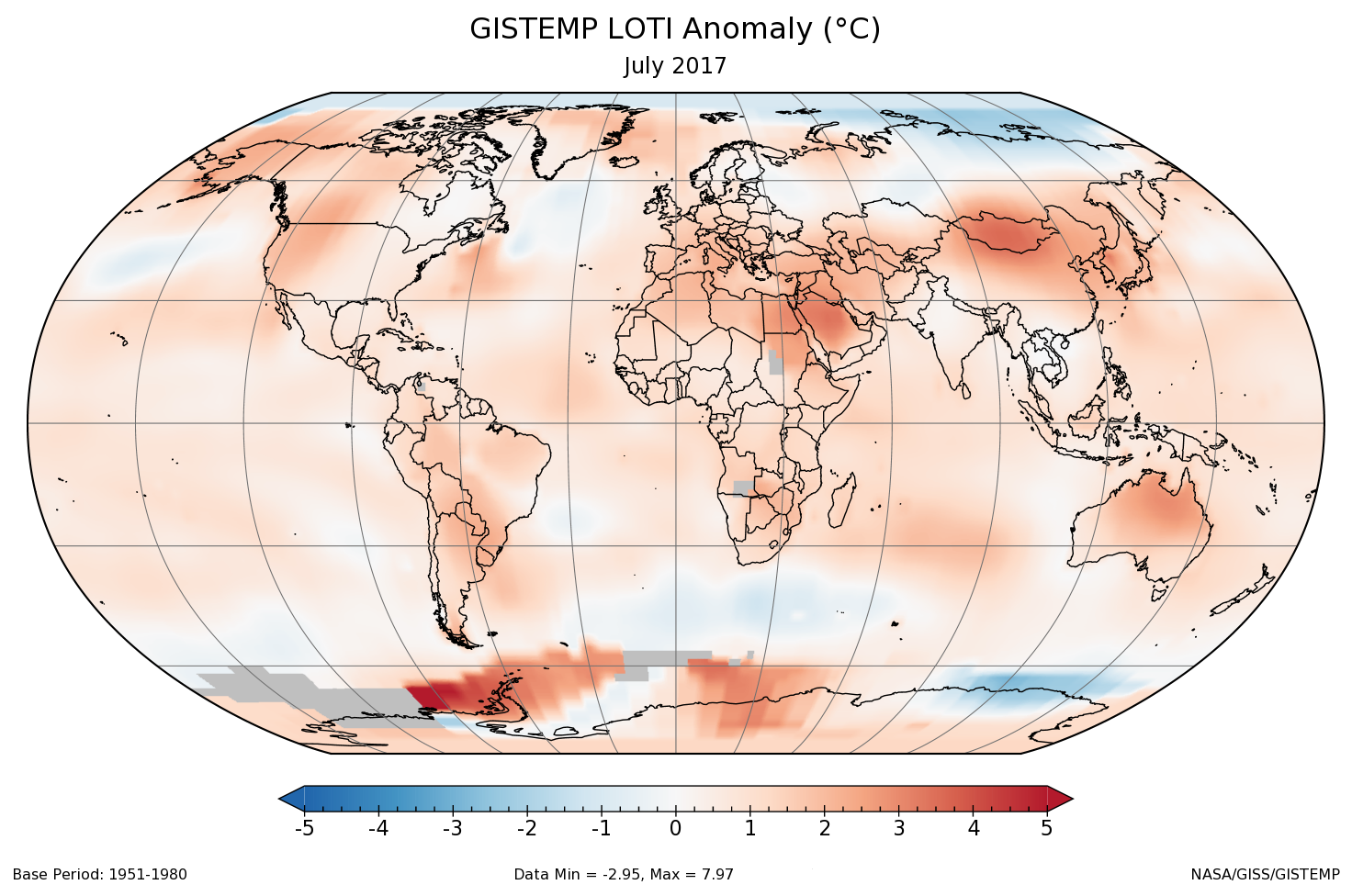 Global goal home 1 new home 1 new kids 1 global goal pro 1 - A Global Map Of The June 2017 Loti Land Ocean Temperature Index Anomaly Relative To The 1951 1980 June Average