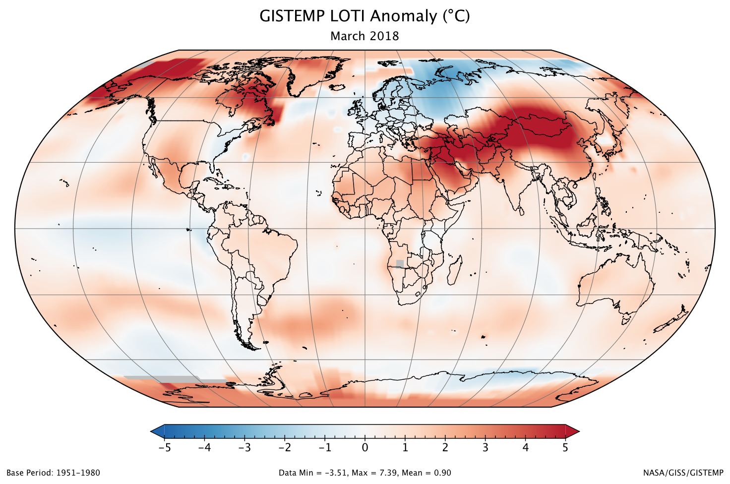 march 2018 was one of six warmest marches on record climate change