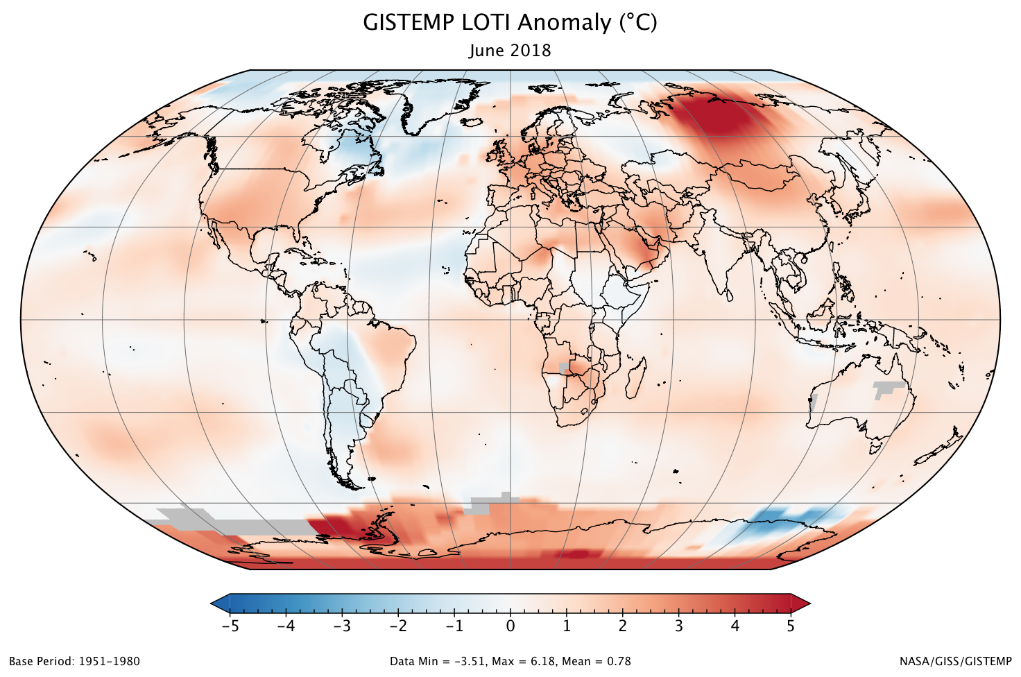 june 2018 ties for third warmest june on record climate change